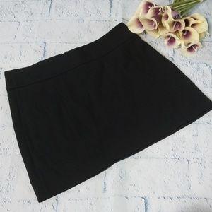 WHBM Stretchy Black Mini Skirt